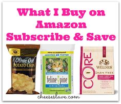 Amazon Subscribe And Save, Food Hacks, Food Tips, Food Ideas, Amazon Prime Membership, Budget Meal Planning, Healthy Grains, Frugal Tips, Potato Chips