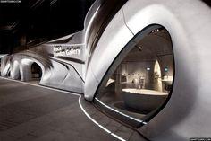 Roca London Gallery, showroom por Zaha Hadid.      #roca #showrooms #londres #cahahadid