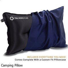 Camping Pillow - superb variety. Need to explore...