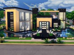 This contemporary house is located in Willow Creek on a lot. It has an ope… – Magikas Pins - Decoration
