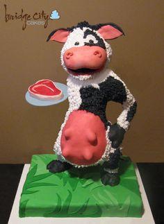 amazing Cow Cake....freakin hilarious!
