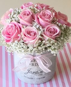 Pretty pink roses and baby's breath. 2019 Pretty pink roses and baby's breath. The post Pretty pink roses and baby's breath. 2019 appeared first on Flowers Decor. Beautiful Rose Flowers, Love Flowers, Paper Flowers, Pretty Roses, Exotic Flowers, Purple Flowers, Flower Box Gift, Flower Boxes, Frühling Wallpaper