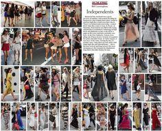Bill Cunningham | Independents - NYTimes.com    Skirt lengths spring 2012