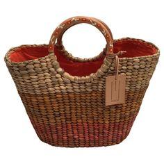 Missoni - Tasche aus Stroh #secondhandmode