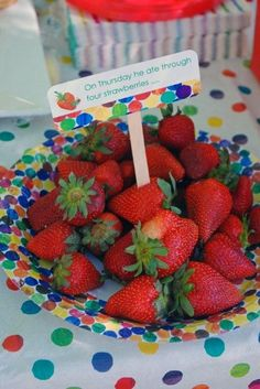 Very Hungry Caterpillar Party - Food Ideas