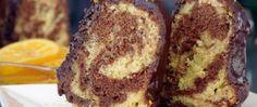 Čokoládová bábovka s pomerančovou příchutí