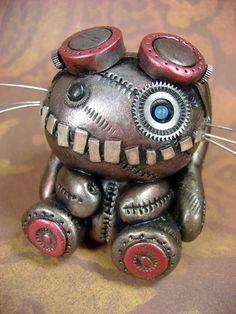 Steampunk teddy