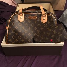 Louis Vuitton  montorgueil pm Beautiful bag in mint condition! Cheaper on 🅿️🅿️. Louis Vuitton Bags