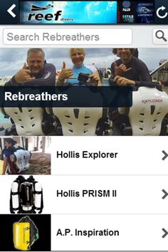 Reef Divers has created an easy-to-use app that will keep you connected to what goes on in the dive shop!<p>Included in the app is a photo gallery of our trips, a listing of our upcoming events, our Facebook and Twitter feeds, and for you mobile shoppers-