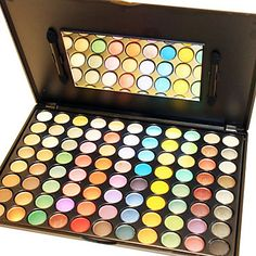 Dazzling 88 Colors Makeup Eye Shadow Palette – USD $ 34.99