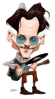 Johnny Depp by Baptistao-Brazil