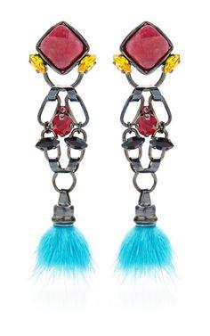 Artesan Earrings by VICKISARGE - Moda Operandi