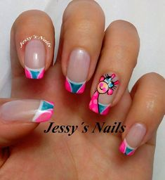 uñas pies jessy nails - Yahoo Image Search Results French Tip Nails, Nail Decorations, Cute Nail Designs, Cute Nails, Beauty, Nails Design, Triangles, Margarita, Nail Ideas