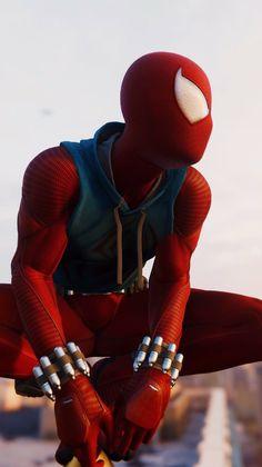 Marvel Comics, Marvel Art, Marvel Heroes, Marvel Avengers, Spiderman Art, Amazing Spiderman, Scarlet Spider Costume, Spiderman Lockscreen, Scarlet Spider Ben Reilly