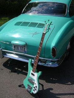 Gretsch, Rickenbacker Guitar, Acoustic Guitar, Guitar Amp, Volkswagen Karmann Ghia, Volkswagen Bus, Rick Y, Jackson, Double Bass