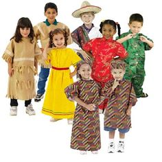 Buy Multi-Ethnic Ceremonial Costumes  **    Appreciate cultural diversity with these ceremonial dress costumes** **    Set includes Hispanic, Native American, Asian, and African boy and girl costumes** **    For ages 3 & up**  Buy From Amazon http://www.amazon.com/gp/product/B00192925M?tag=canreb0c-20