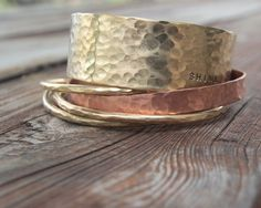 Hey, I found this really awesome Etsy listing at https://www.etsy.com/listing/113911051/personalized-bangle-bracelet-five