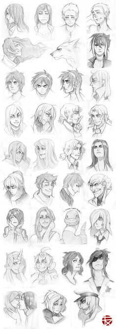 Sketch commissions 01 by SylwiaPakulska.deviantart.com on @deviantART