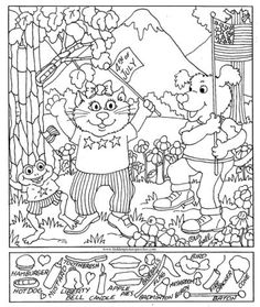 View and print this Hidden Pictures Of July. Get your free Hidden Pictures pages at All Kids Network Find The Hidden Objects, Find Objects, Hidden Pictures Printables, Highlights Hidden Pictures, Hidden Picture Puzzles, Fun Worksheets, Activity Sheets, Classroom Fun, Coloring Book Pages