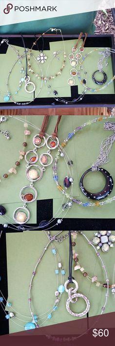 Lia Sophia Necklace Bundle Lia Sophia Necklace Bundle 9 Necklaces $60 Lia Sophia Jewelry Necklaces