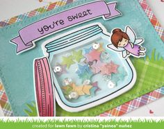 the Lawn Fawn blog: Lawn Fawn Intro: How You Bean? + Shaker Add-on