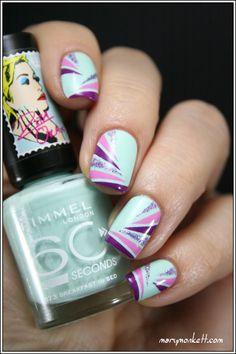 . Great Nails, Fabulous Nails, Love Nails, How To Do Nails, Nails Polish, Nail Polish Designs, Nail Art Designs, Fancy Nails, Diy Nails