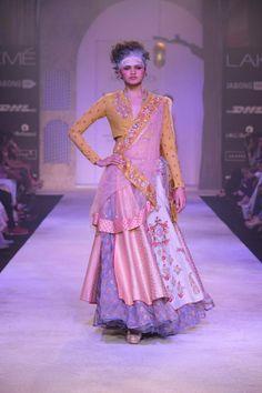 Anju Modi - Lakme Fashion Week Summer/Resort 2014 #JabongLFW #LakmeFashionWeek