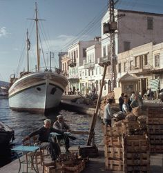 Syros island, Greece, 1964