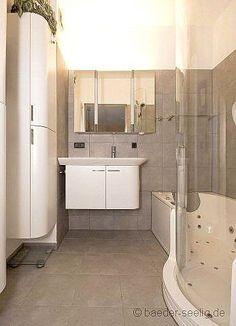 Badewanne Zum Duschen Und Entspannen Mit Whirlpool