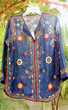 Pastels Vtg sz L 1970/'s1980/'s Dress Classic Feminine Cotton.