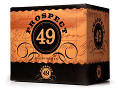 Prospect 49 Wines: McLean Design's bold corrugated display shipper design creates a strong presence at the point of decision.