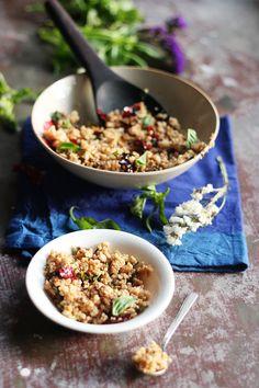 Chili Basil Millets With Tofu (Vegan)