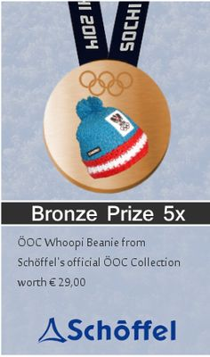 Get in on the action! Win an OOC Beanie from Schoffel's Official Collection . Keep up that style factor as you glide down the slopes Olympia, Beanie, Action, Chart, Collection, Games, Group Action, Beanies, Beret