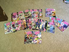 Yea.. I collect the comics XD my sis got me a comic subscription o: