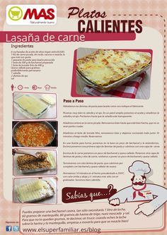 Receta lasaña carne Great Recipes, Dinner Recipes, Favorite Recipes, Healthy Recipes, Dominican Food, Mexican Food Recipes, Tapas, Food And Drink, Yummy Food