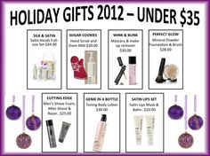 Holiday gifts 2012 under $35