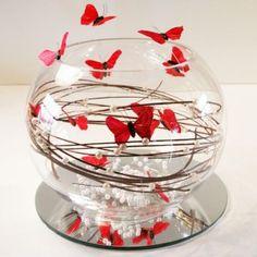 centrotavola farfalle