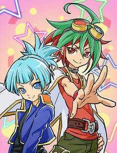Yugioh - Yuya and Sora