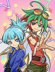 Yugioh - Yuya and Sora