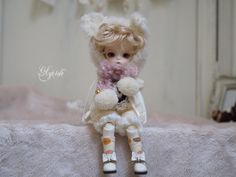 "98 Likes, 31 Comments - Glycine  名古屋アイドールE03 (@glycinedoll) on Instagram: ""* 明けましておめでとうございます 今年も宜しくお願い致します✨ * * * #doll #iMdadoll #NeoAngelregion #soom #BJD #custom #faceup…"""