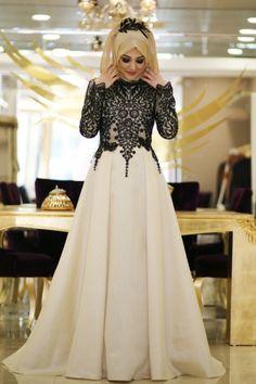Fashion hijab gowns abayas Ideas for 2019 Desi Wedding Dresses, Grad Dresses, Evening Dresses, Dress Wedding, Islamic Fashion, Muslim Fashion, Hijabi Gowns, Hijab Dress Party, Modele Hijab