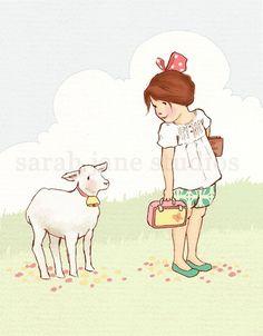 Little Lamb...Sarah Jane Studios
