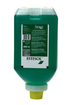 Liquid skin cleanser for light dirt, with strong washing power and good skin compatibility. Stoko Estesol Hand Cleaner - 2000 mL Softbottle Green Seal Certified. Pleasant fragrance and rich lather. Mousse, Hand Hygiene, Janitorial Supplies, 6 Case, Good Skin, Cleanser, Fragrance, Personal Care, Skin Care