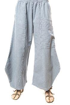 Ticking Klee Pant UnPrinted-Blue Fish Clothing : Blue Fish Clothing