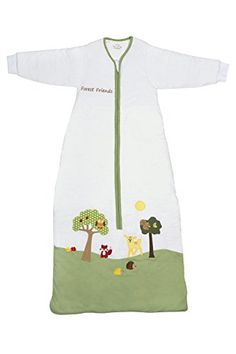 Schlummersack Winter Baby Sleeping Bag Long Sleeves 3.5 Tog - Forest Friends - 12-36 months/43inch44.89