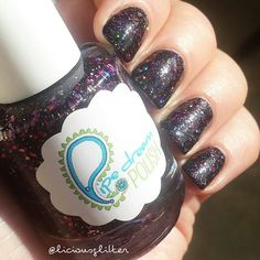 Instagram repost via @instarepost20 from @liciousglitter This polish is truly amazing, right? A deep black base absolutely packed with berry,  purple, silver and holographic glitter. Magical! Pipe Dream Polish knows her stuff, this beauty is called Empyrean. By; @theamansson || @pipedreampolish @edgypolish #pipedreampolish #edgypolish #indiepolish #indienails #liciousglitter #nails #nailswag #nailstagram #instanail #nailpolish #nailpolishaddicts #notd #nailsoftoday #nailsoftheday…