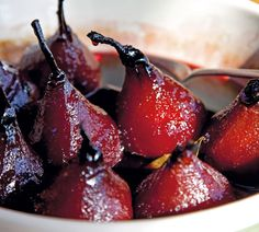 #RecipeOfTheWeek My Ruby Roasted Pears are the perfect dinner party dessert - they use affordable ingredients, can be prepared up to three days in advance and look spectacular on the plate. Here's the recipe http://www.annabel-langbein.com/recipes/ruby-roasted-pears/357/