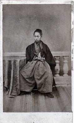 上野彦馬撮影といわれる井上馨、伊藤博文の写真 の画像|aburayaのブログ