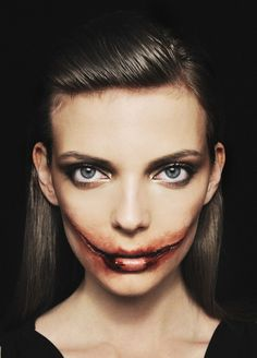 black dahlia Halloween makeup Halloween Makeup #halloween #makeup