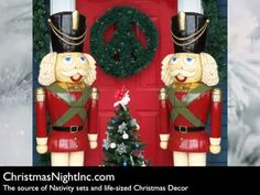 Giant Nutcrackers & Toy Soldiers From Christmas Night Inc.